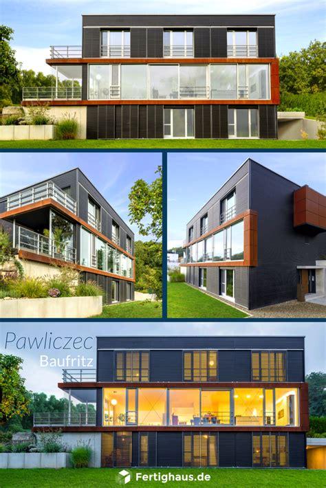 Moderne Häuser Terrassen by Moderne Architektur Haus Pawliczec Baufritz