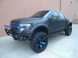 "Sell used 2013 MATTE BLACK FORD RAPTOR 4""FABTECH LIFT 20 ..."