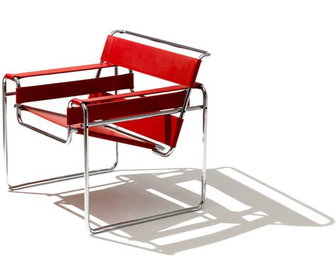 Breuer Chair Leather Wassily Lounge Chair Hivemodern Com