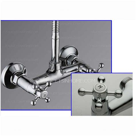 style kitchen faucets discount two wall mount style kitchen faucet
