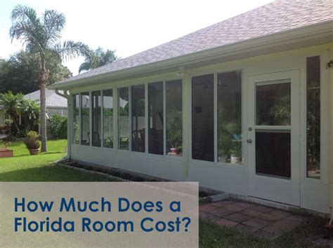 sunroomflorida room cost