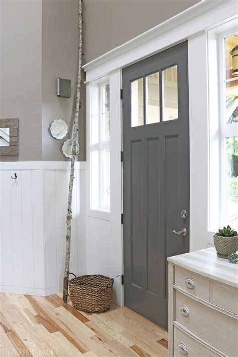 I like the door color would be pretty with dark flooring