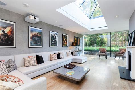 large living room layout 20 skylights for a bright living room home design lover