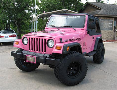 jeep wrangler custom pink 1998 jeep wrangler sport sold jeep power house serving