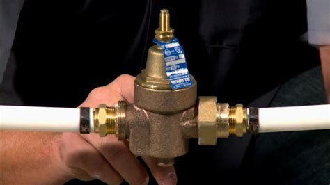 installing  water pressure regulator curiouscom