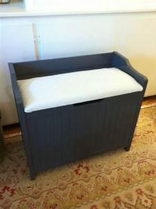 hamper bench diy pinterest hamper laundry and With bathroom bench hamper