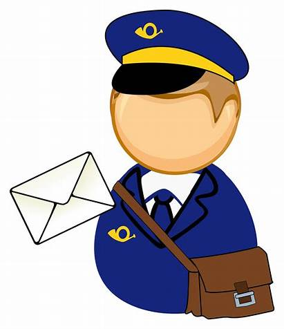 Postman Clipart Mailman Mail Carrier Clip Transparent