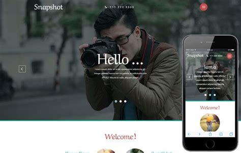 fotoria scope web  mobile website template