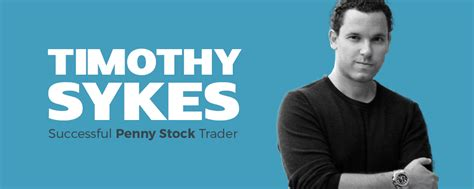 Timothy Sykes - Millionaire Penny Stock Trader