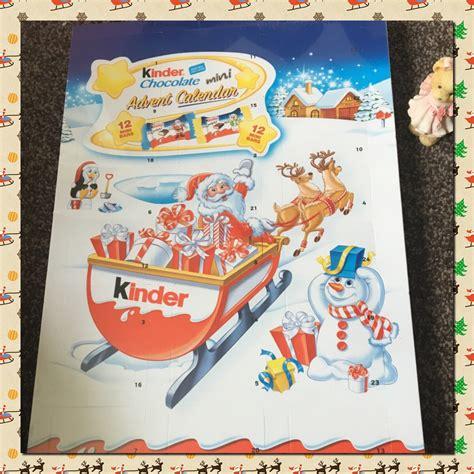christmas  special  kinder chocolate