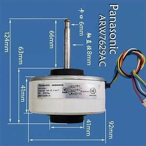 1pcs For Panasonic Inverter Air Conditioner Dc Motor Arw7629ac Dc280 340v 30w Air Conditioning
