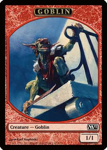 Goblin Token Commander Deck by Channel Fireball Goblin Token Magic Singles 187 Khans Of