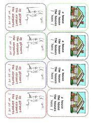 Definite And Indefinite Articles (board Game)  Esl Worksheet By Ccchangch