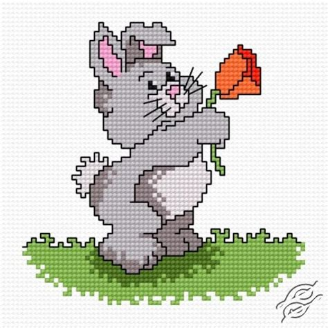 patterns cartoons rabbit karol gvello stitch