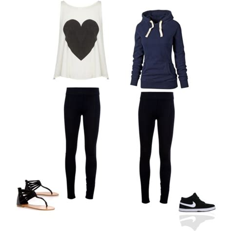 Cute outfits with leggings #1 by miamia1121 on Polyvore | Stylee