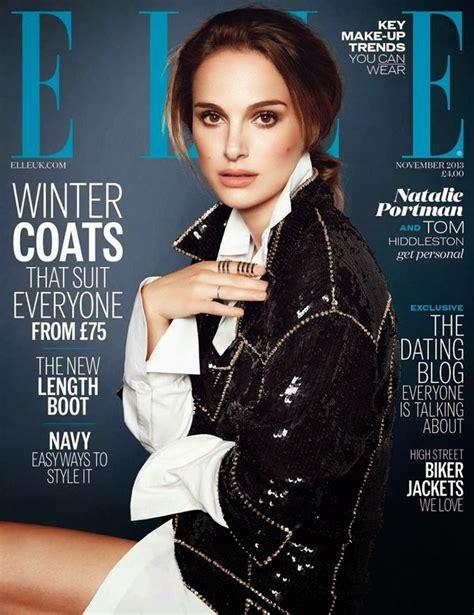 Natalie Portman Elle Magazine November