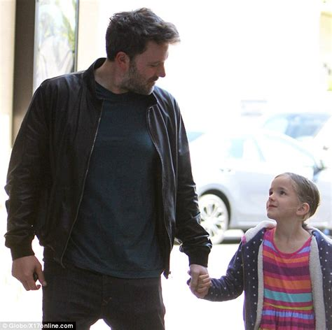 32 Inch Deep Sofa by Ben Affleck Enjoys Father Daughter Day Out To The Movies