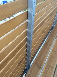 Holz Balkongeländer Bretter : balkon bauen von balkontr ger bis balkongel nder hausbau ein baublog ~ Watch28wear.com Haus und Dekorationen