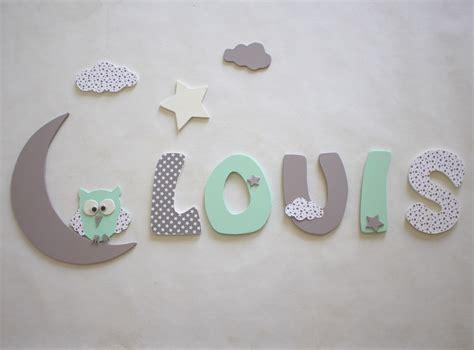 d 233 coration pr 233 nom lettres en bois lettres taille 9 cm d 233 coration pour enfants par