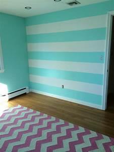 Kinderzimmer In Blau : kinderzimmer wandgestaltung streifen ~ Sanjose-hotels-ca.com Haus und Dekorationen