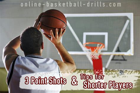 shooting drills  point shots tips  shorter players
