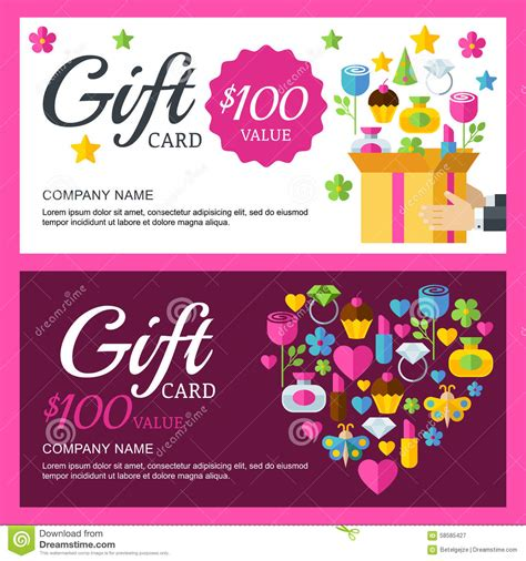 vector coupon  voucher background template box