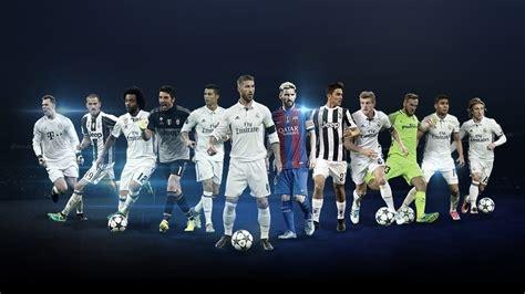 UEFA Champions League positional awards shortlists - UEFA