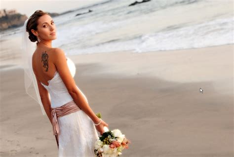 the appropriate beach wedding dresses