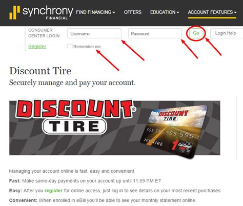Discount Tire Carcareone Credit Payment Www  2018, 2019