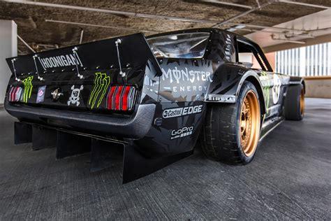 hp  ford mustang awd monster  ken blocks car