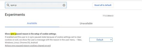 Chrome Now Prompts Users Change Cookie Settings Sync
