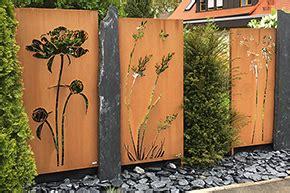 Cortenstahl Garten Bestellen by Cortenstahl Sichtschutz Kaufen Metallbau