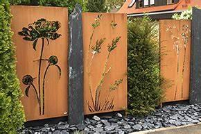 cortenstahl sichtschutz online kaufen metallbau With garten planen mit zimmerpflanzen versand online bestellen
