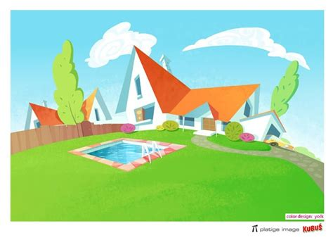 128 Best Cartoon Houses Images On Pinterest