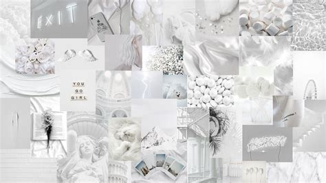 aesthetic white laptop hd wallpapers