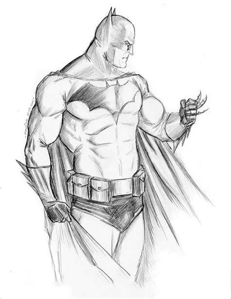 drawn fist batman pencil   color drawn fist batman