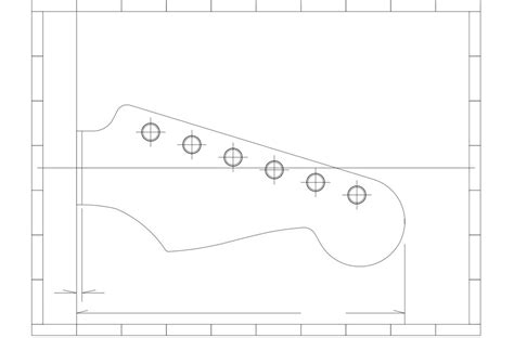 stratocaster headstock template fender stratocaster guitar templates electric herald