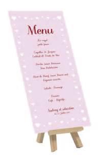 exemple menu mariage menu mariage exemple idée et impression de porte menu