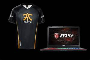 MSI Is Giving Away A Fnatic Jersey Signed By The League Of
