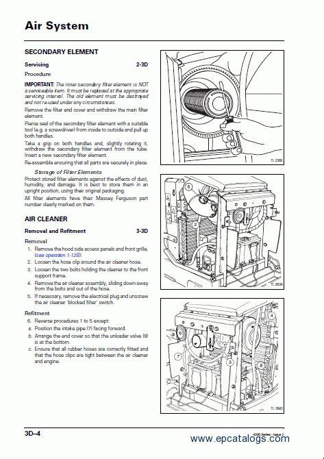 massey ferguson  north america workshop manual