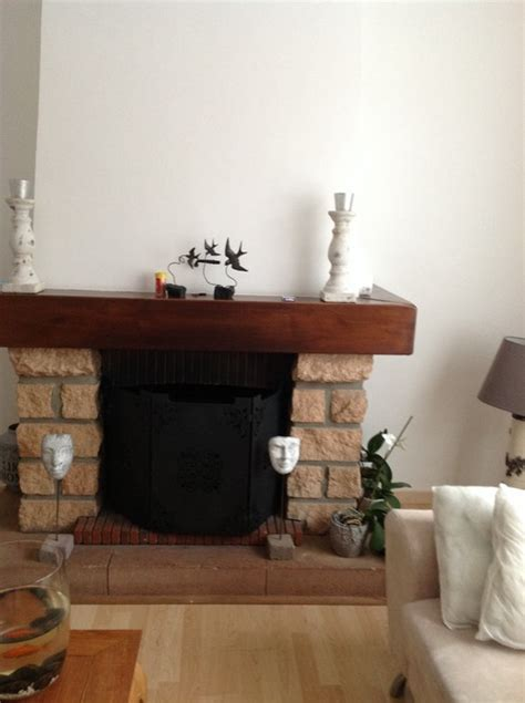 renover sa cuisine avant apres peindre ma cheminée