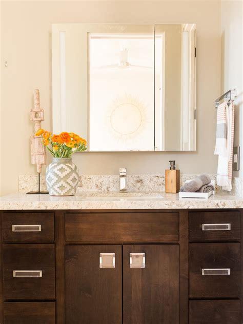 guest bathroom vanity pictures of the hgtv smart home 2017 guest bathroom hgtv