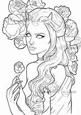 Coloring Peony Printable Adult Grey Scale Drawings Peonies Tattoo Drawing Colouring Medusa Grayscale Pfaff Arte Stencils Colors Outline Amazing Schizzi sketch template