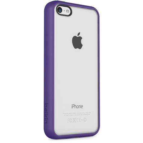 iphone 5c purple belkin view for iphone 5c purple f8w372btc02 b h photo