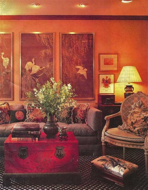 brown and orange living room orange and brown living room architecture and design pinterest