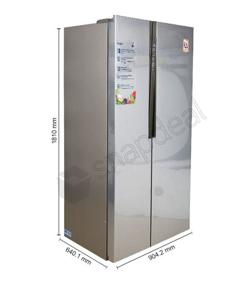 Side By Side Haier by Haier 565 Ltr Hrf 618ss Side By Side Refrigerator