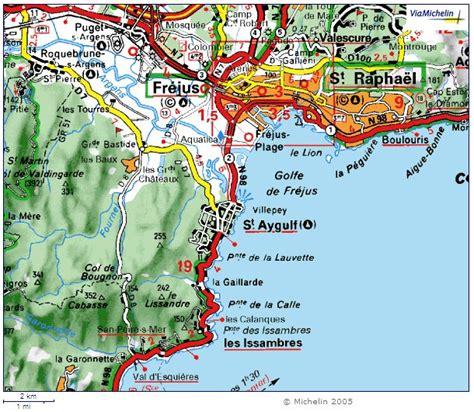 St Aygulf Var Carte by Informations Sur Aygulf