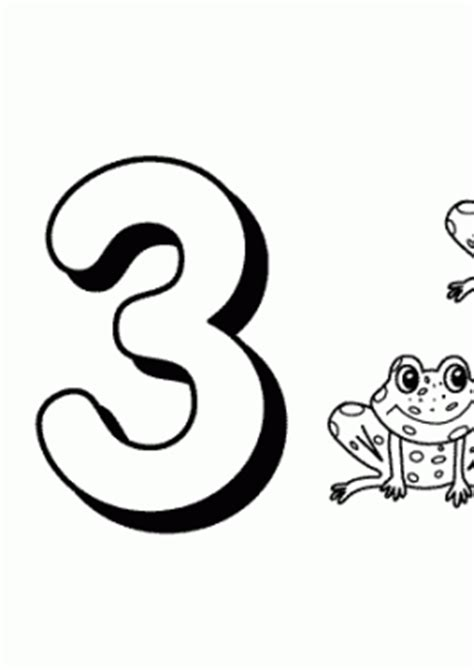 counting  numbers coloring pages  kids printable