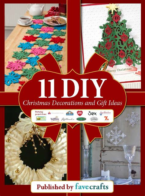 """""""11 Diy Christmas Decorations And Gift Ideas"""" Free Ebook"""