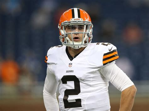 Johnny Manziel Benched By Browns For Week 1  Business Insider